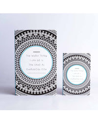 Doodle Be yourself Paper Set Diary Multicolor