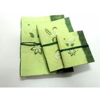 Paper Theatre Eco Friendly Journals Set of Three (3) - 399332, multicolor