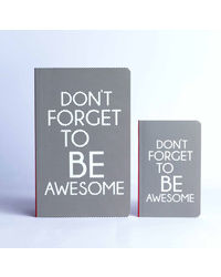 Doodle Be awesome Paper Set Diary Multicolor
