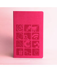 Doodle Icons Diary, pink
