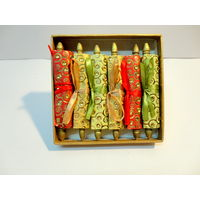 Paper Theatre Eco Friendly Money Shagun Gift / Message Scrolls In Rolls Form Set of Six ( 6) - 390432, multicolor