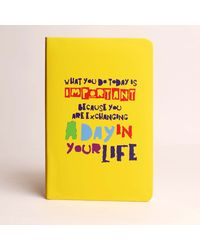 Doodle Day in your life Diary, yellow