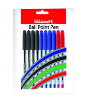 Luxor Focus Ball Point Pen 1 Mm Tip 10Pcs Pack 9000018822