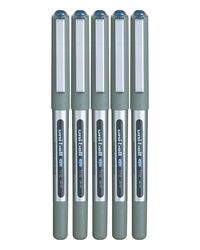 Uniball Uni-Eye Roller Ball Pen 5 pcs Pack UB157(0.7), blue