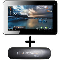 Adcom 3G Tablet with Calling/Dual Camera/WiFi 740C with 3G Dongle