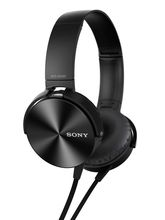 Sony MDR-XB450 Extra Bass On-Ear Headphones (Black)