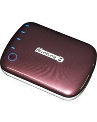 Burgundy Power Pack 6000 mAh,  brown, 0