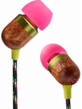 House of Marley EM-JE003-FI Jammin Collections Smile Jamaica In-the-ear Headphone (Mic with 3 Button), fire