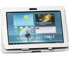 iAccy - White Hard Portfolio Case for Samsung Galaxy Tab2 P5100