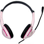 Live Tech LT - 400 On-the-ear Headset, pink