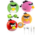 Vizio Mp3 Player Angry Bird with Earphone, green