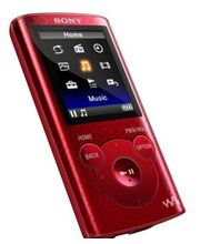 Sony 4GB E Series Digital Media Player (NWZ-E383), Red, 4 Gb