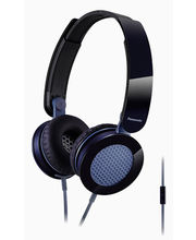 Panasonic RP-HXS200ME Headphone With Microphone, Black