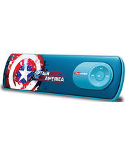 Portronics Disney Pure Sound Avengers - Captain America Shield, multicolor