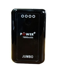 HCL Power Plus Jumbo 7800 mAh Power Bank,  black