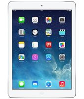 Apple iPad Air Wifi+ Cellular(Silver, 128 GB)