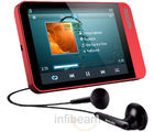Philips MP3 Player SA060304R/97-4 GB (4 GB, Red)