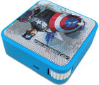 Portronics Disney Cubix Avengers - Captain America, multicolor