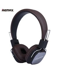 Remax Hifi Anywhere-Ear Headphones For Ios And Android Rm-100H,  black