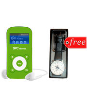 SPC Internet 821 2GB Mp3 Players Green (2 GB,Green)