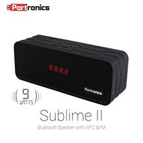 Portronics Sublime II portable Wireless Bluetooth Speaker,  black