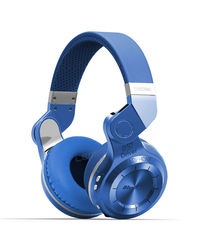 Bluedio T2 Plus Dynamic Wired & Wireless Bluetooth Headphones,  blue