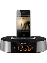 Philips Clock radio for iPod AJ7030D MP3 Link (Silver)