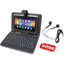 Wespro 7 Inch Netbook Tablet with Free Leather Pouch and USB Keyboard
