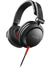 Philips SHL3300 DJ Monitor Style On-the-ear Headphone, black