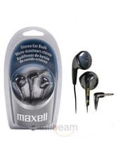 Maxell Stereo Earphone Headphone For IPods, Mobile...