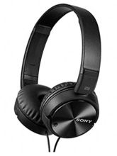 Sony MDR-ZX110NC Wired Headphones, Black
