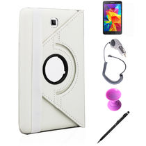 Callmate 360 Degree Rotating Cover Case Combo 2 For Samsung Galaxy Tab 4 8.0