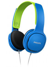 Philips SHK2000 Headphone, Blue Green
