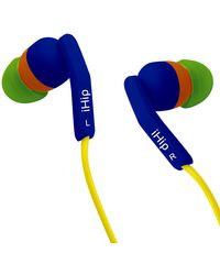 iHiP Bluebottle Fashionable Color Earphone, multicolor