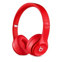 Beats Solo2 On-Ear Headphones,  red