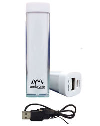 Ambrane P-222 (2200 mAh) Power bank,  white