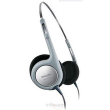 Philips SBCHL140/98 Over The Ear Headphones,  silver, 0