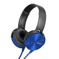 Sony MDR-XB450 Headphone,  blue