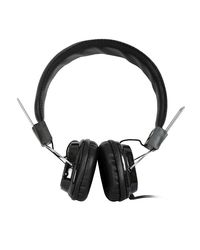 High Coins H-32 On Ear Wired Headphones With Mic,  black