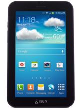 ISUN Smart Dual Sim 2G Calling Tablet, black, 8 gb
