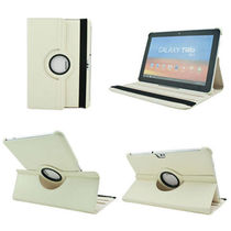 Callamte 360 Rotating Leather Cover Case For Samsung Galaxy Note 10.1 N8000