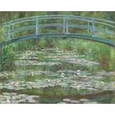 The Japanese Footbridge by Claude Monet, 30 x 24 inches