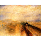 Rain, Steam and Speed the Great Western Railway by JMW Turner, 24 x 18 inches