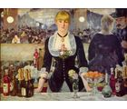 A Bar at the Folies Bergà ¨ re by Edouard Manet, 36 x 24 inches
