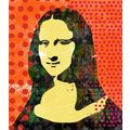 Mona Lisa pop art