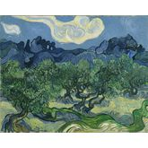 The Olive Trees by Vincent Van Gogh, 30 x 24 inches