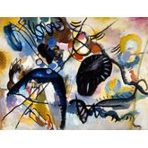 Black Spot by Wassily Kandinsky, 24 x 18 inches
