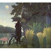 La Charmeuse de Serpents by Henri Rousseau, 20 x 18 inches