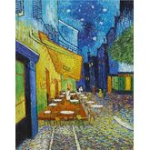 Cafe Terrace at Night by Vincent Van Gogh, 18 x 24 inches