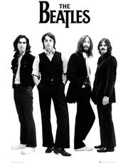 THE BEATLES white